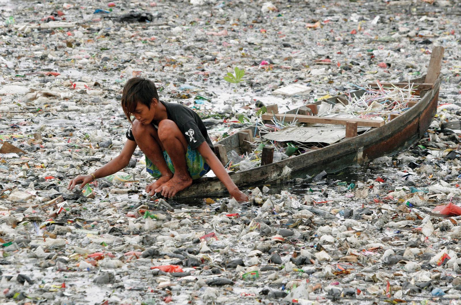 poluição-rio-citarum